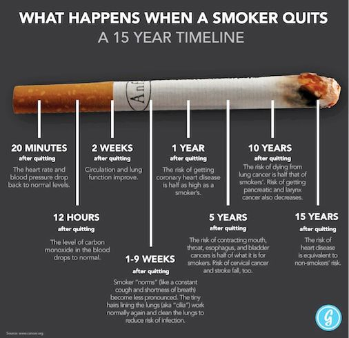 If you are a smoker, or have loved ones or friends who smoke, this is for you. #smoking #smoke #cancer #cancercouncil #infographic #health #facts #hope