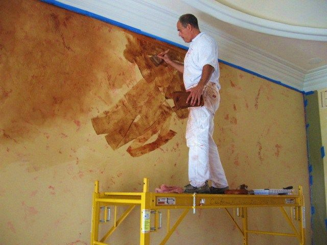 Faux Painting Ideas For Walls Part - 49: 15 Home Renovation Projects You Should Never Attempt To Do It Yourself. Faux  Painting WallsPainted ...