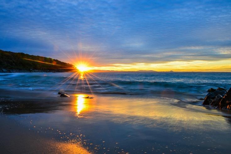 Noosa Beach Sunset, Noosa Heads, Australia.