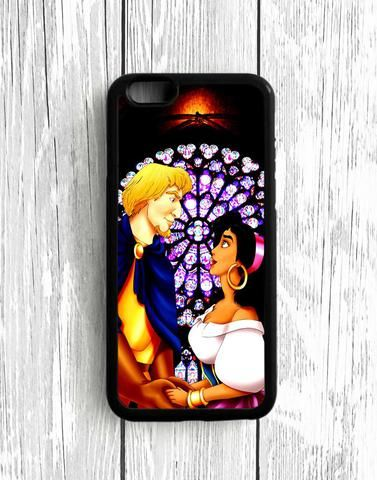 Aladdin And Jasmine Of Moon iPhone SE Case