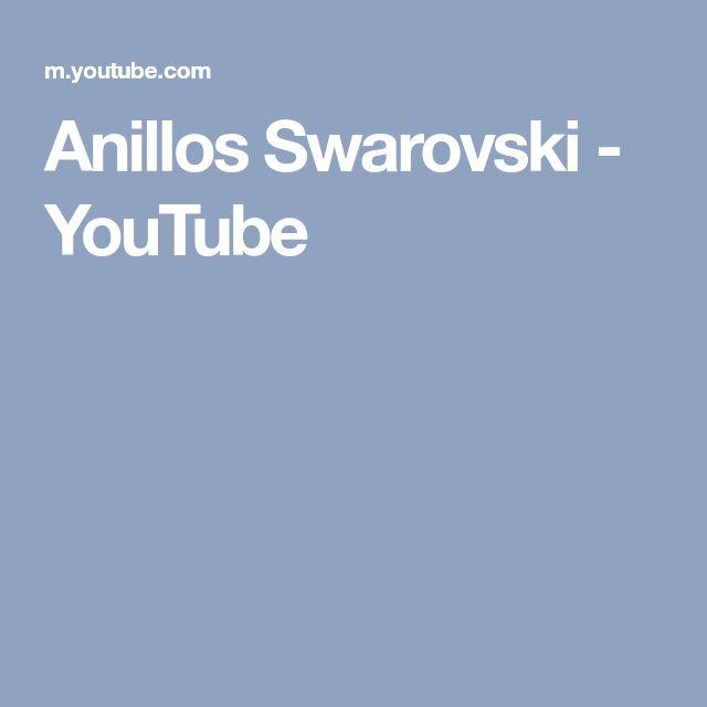 Anillos Swarovski - YouTube