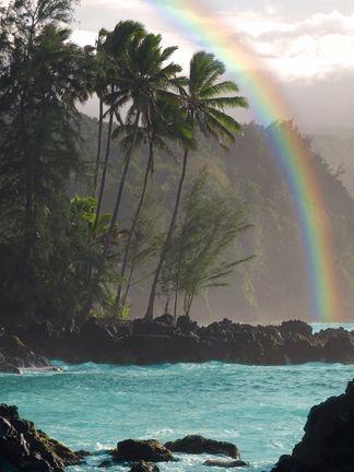 Beautiful Keanae Peninsula, Maui