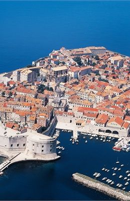Croatia // Remember when this is the location they used for Kings Landing?