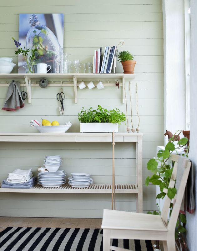 Vill du ha inspiration för inredningen av din matplats? Besök oss på Norrgavel, vi har allt för matplatsen och det dukade bordet!