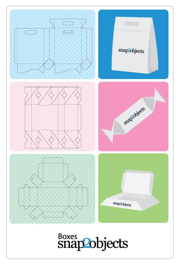 De nuevo Snap2objects nos ofrece una útil descarga, por lo menos para aquellos que buscan recursos gratuitos de packaging y/o de merchandising. Se trata de las plantillas vectoriales de cajas que podemos utilizar donde y...