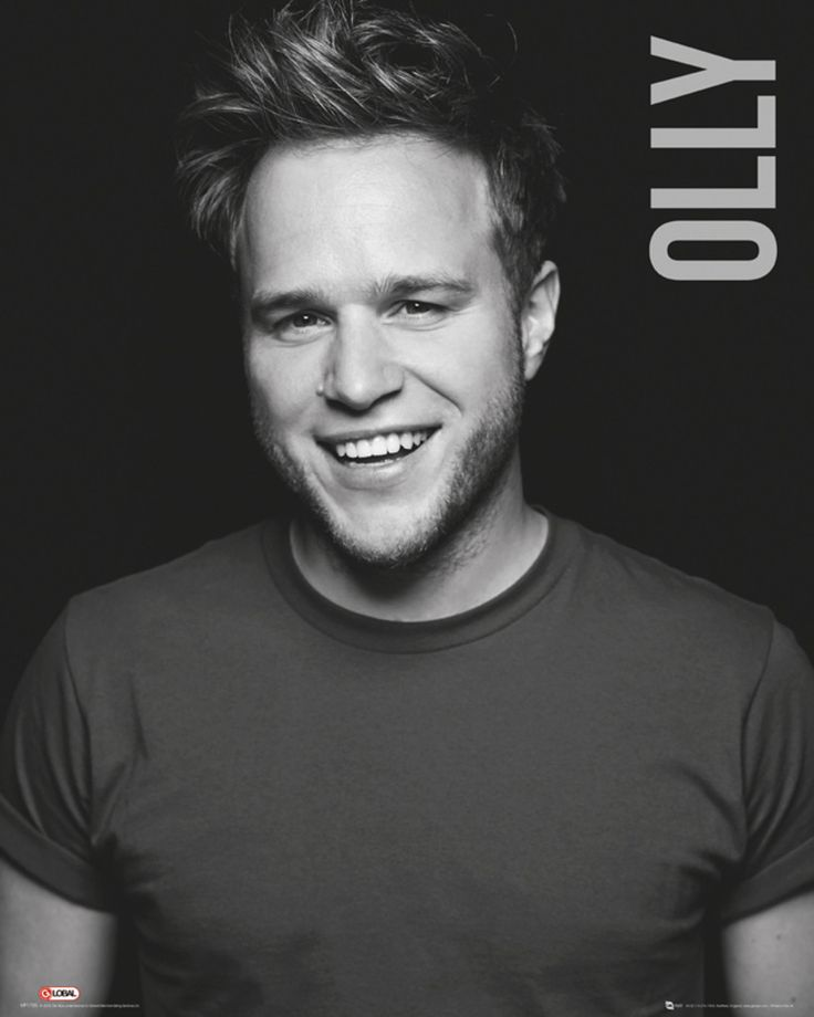 Olly Murs - Black and White - Official Mini Poster. Official Merchandise. FREE SHIPPING