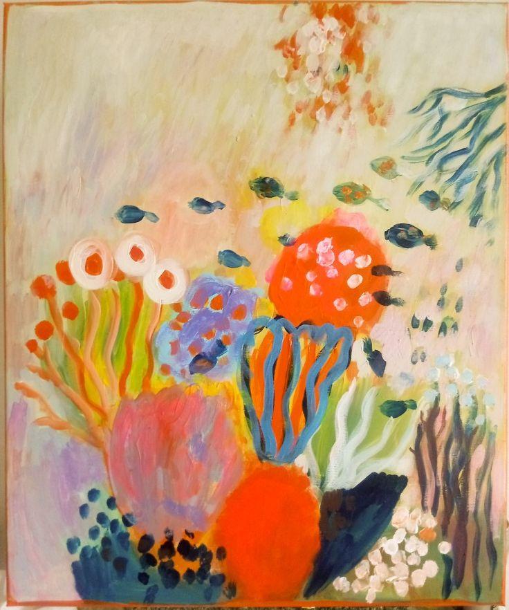 #kobus#malgo#absrtact#painting#malarstwo#reef