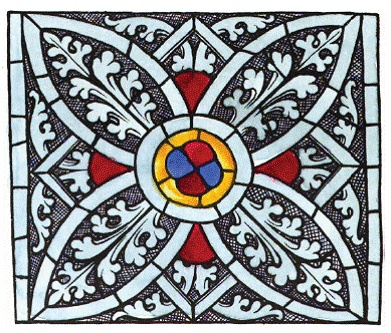 Design Decoration Craft: Medieval Stained Glass Pattern Work