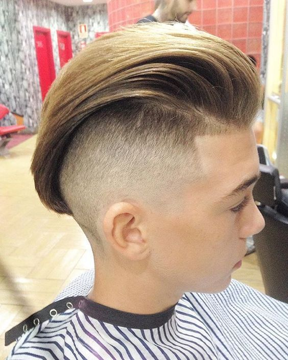 Undercut Haircut Fade Side