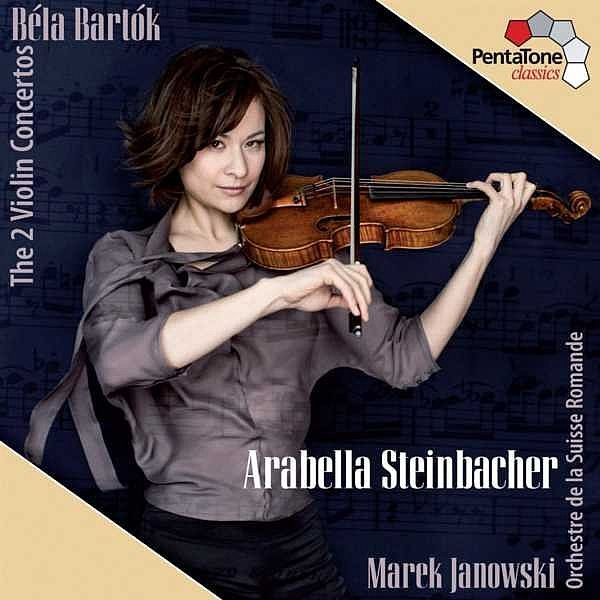 Bartok: The Two Violin Concertos - Arabella Steinbacher - PentaTone