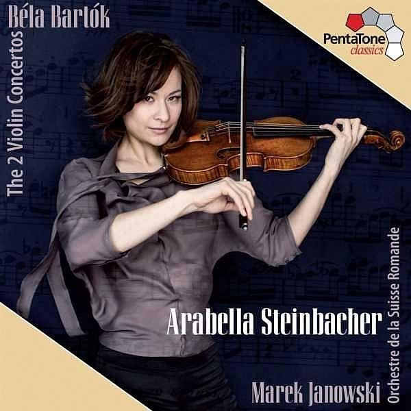 Bartok: The Two Violin Concertos-Arabella Steinbacher-PentaTone