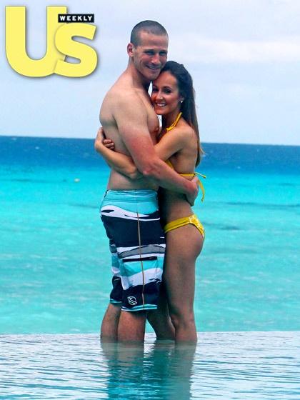 Bachelorette alum Ashley Hebert and J.P. Rosenbaum honeymoon in CA