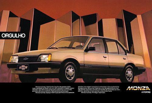 Chevrolet Monza 4 portas