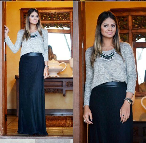 Black Skirt - Thassia Naves