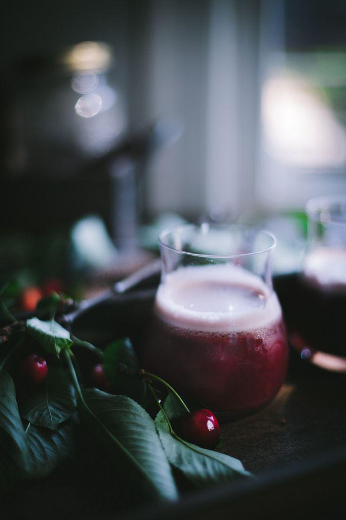How to Make a Cocktail Shrub | Black Cherry Tarragon Shrub + The Silky ...