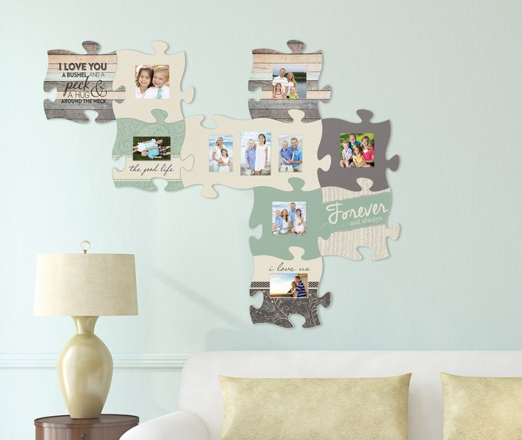 7 best Puzzle Piece Wall Decor images on Pinterest ...