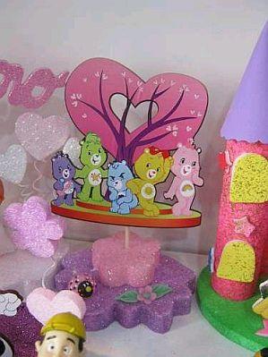 MuyAmeno.com: Fiestas Infantiles, Decoración Ositos Cariñositos, Centros de Mesa