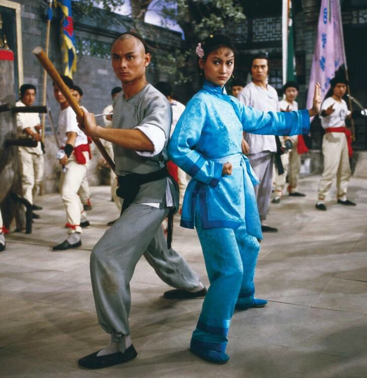 Gordon Liu & Kara Hui, The Martial Club (1981) Shaw Brothers. dir. Lau Kar Leung