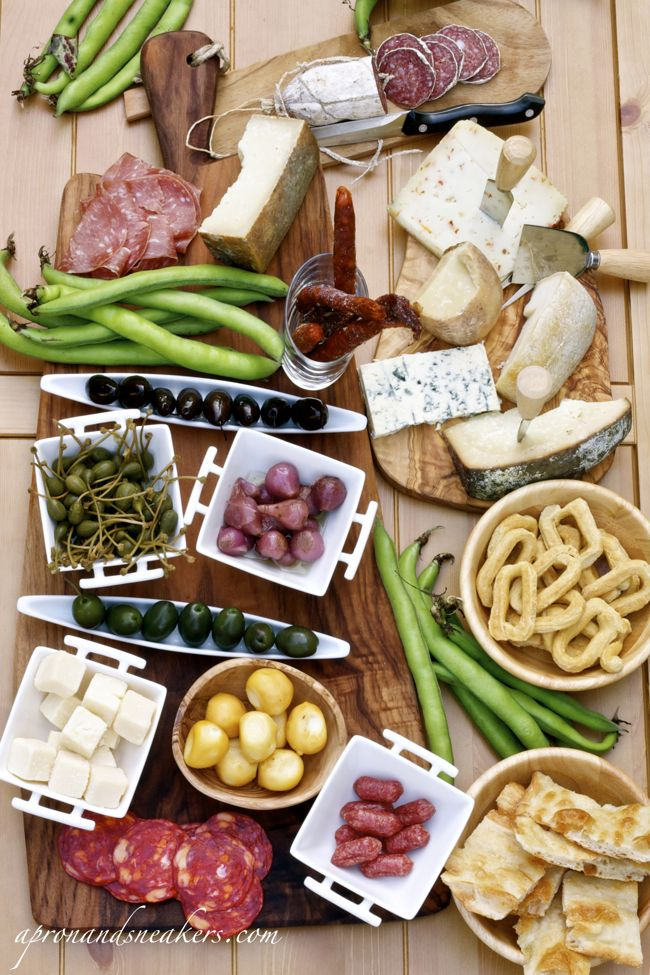 Typical Italian Antipasto - image only