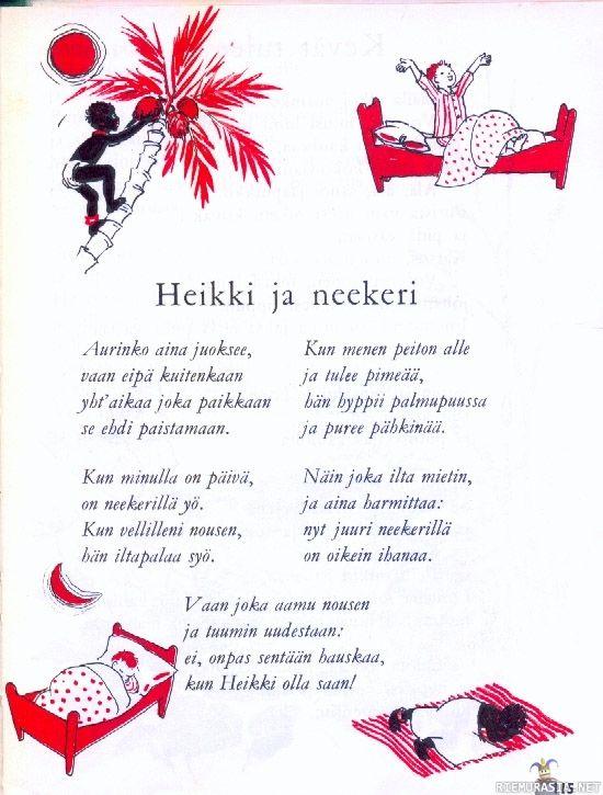 Heikki ja neekeri