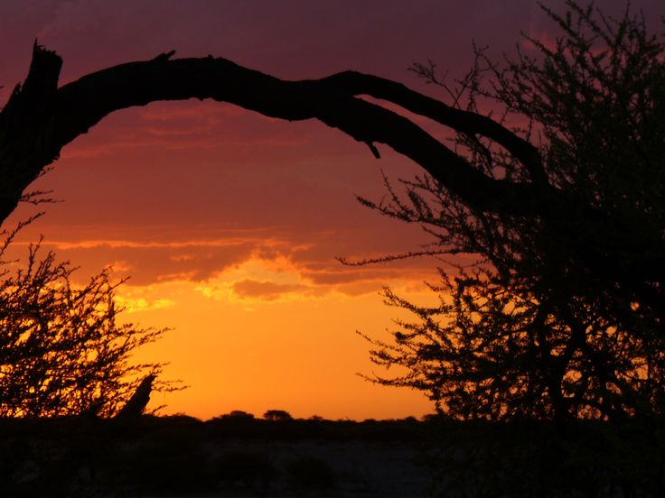 Typical sunset in Brandberg area Namibia!