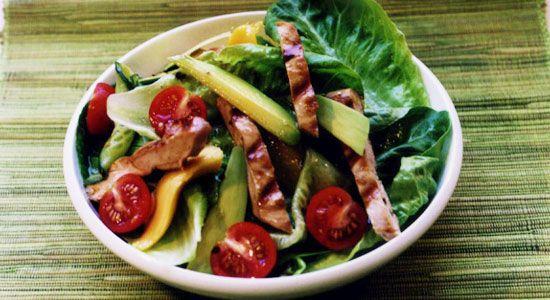 Warm Mango Chicken Salad Recipe - weightloss.com.au
