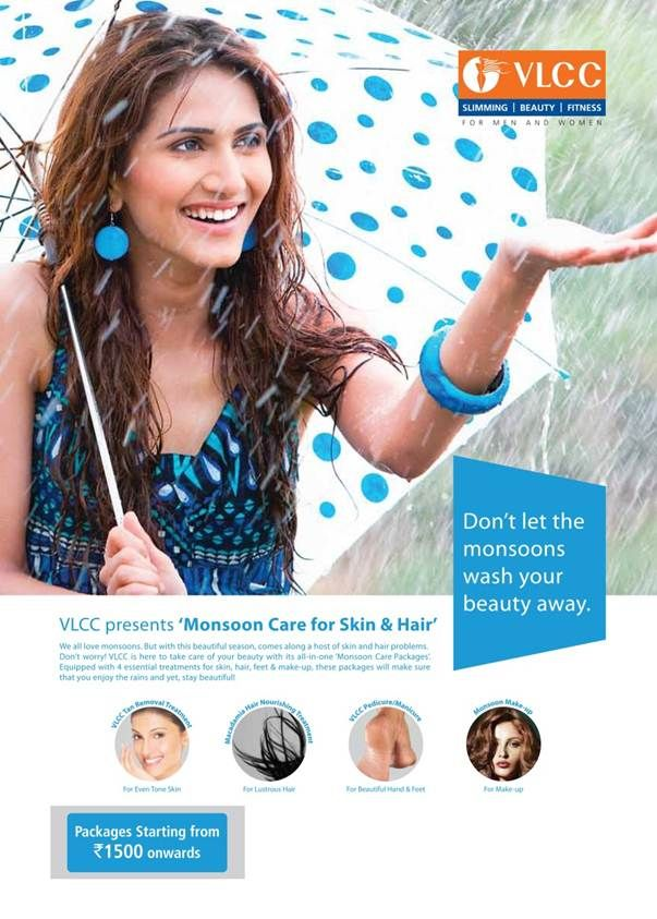 The rainy season brings with it an increase in humidity and pollution, which can intensify your skin and hair woes.   Try our monsoon skin and hair care packages and enjoy the season without any worries.