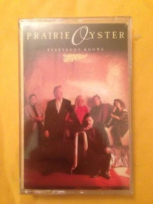 Prairie Oyster Everybody Knows Cassette Tape New Sealed country