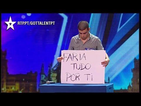 Wiadomość dla byłej dziewczyny w portugalskim Mam Talent [NAPISY PL] - YouTube