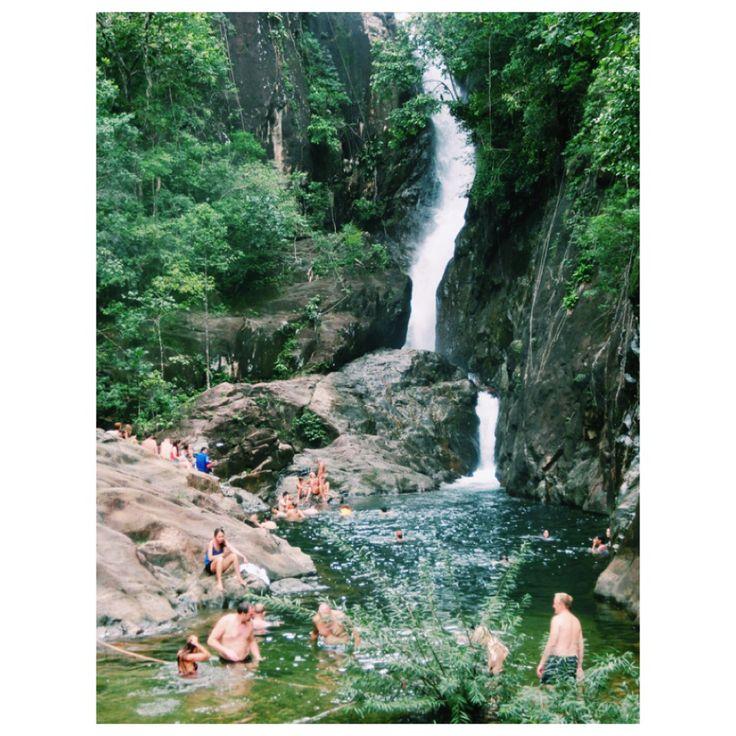 Waterfall Ko Chang