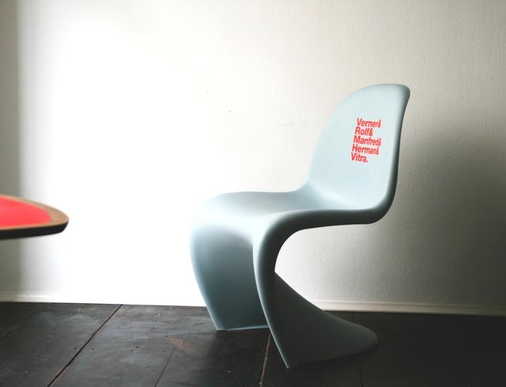 Panton Chair, Designed by Partu