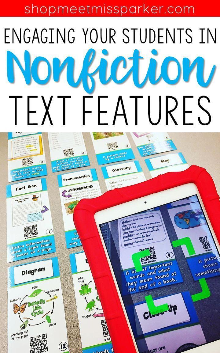 Nonfiction Text Features - Factile Jeopardy Classroom ...