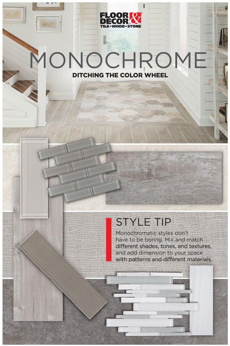 Floor And Decor Subway Tile 19 Best Monochrome Images On Pinterest  Floor Decor Backsplash