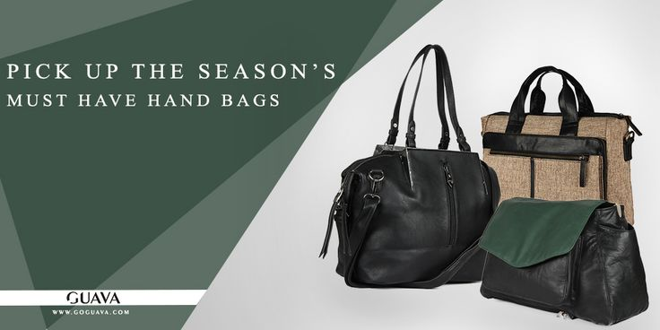 Pick Up the Season's Must Have Hand Bags! http://goguava.com/bag/women/all-handbags   #Women #Shopping #Deals #Handbags