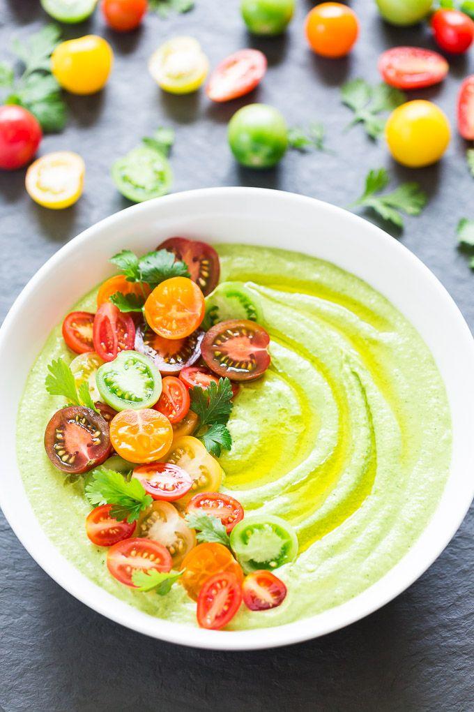 Avocado Zucchini Hummus #vegan #glutenfree | Get Inspired Everyday