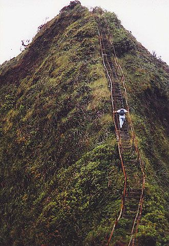 how to get to stairway to heaven oahu