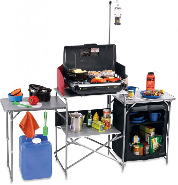 Rei Camp Kitchen Lets You Set Up A Ious Cooking Area Outside The Tent On Camping Trip Or In Outdoors