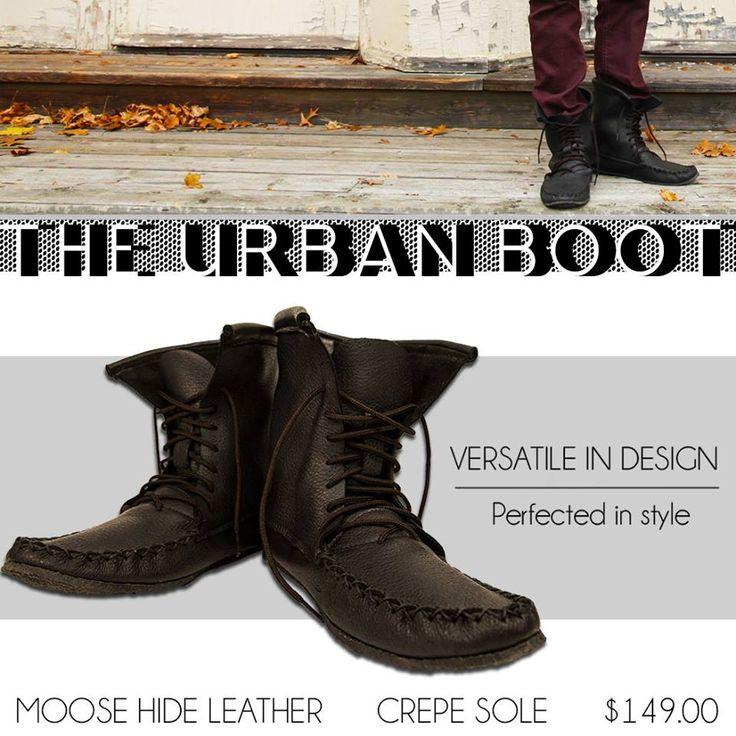 The Urban Boot #leather #Canada #handmade #rockwood #ontario #like #daily #fashion #hidesinhand