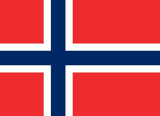 Noruega está situada en el norte de Europa.