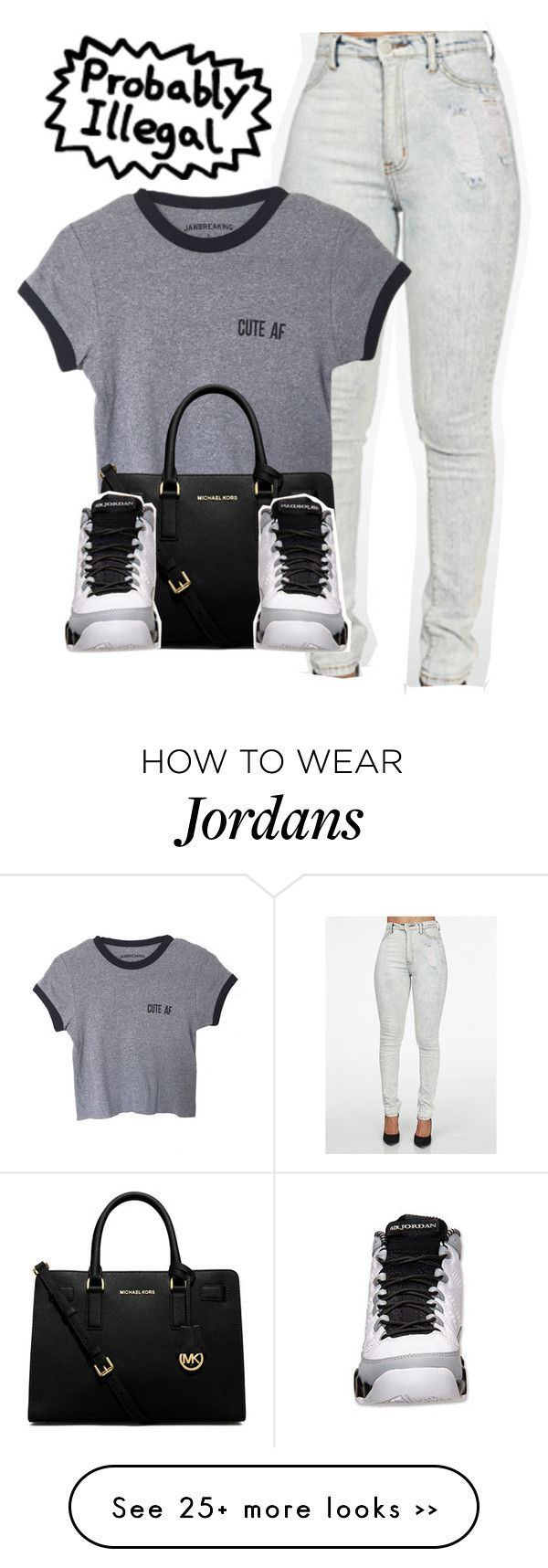 """""""Untitled #973"""" by lovejaycii on Polyvore featuring MICHAEL Michael Kors"""