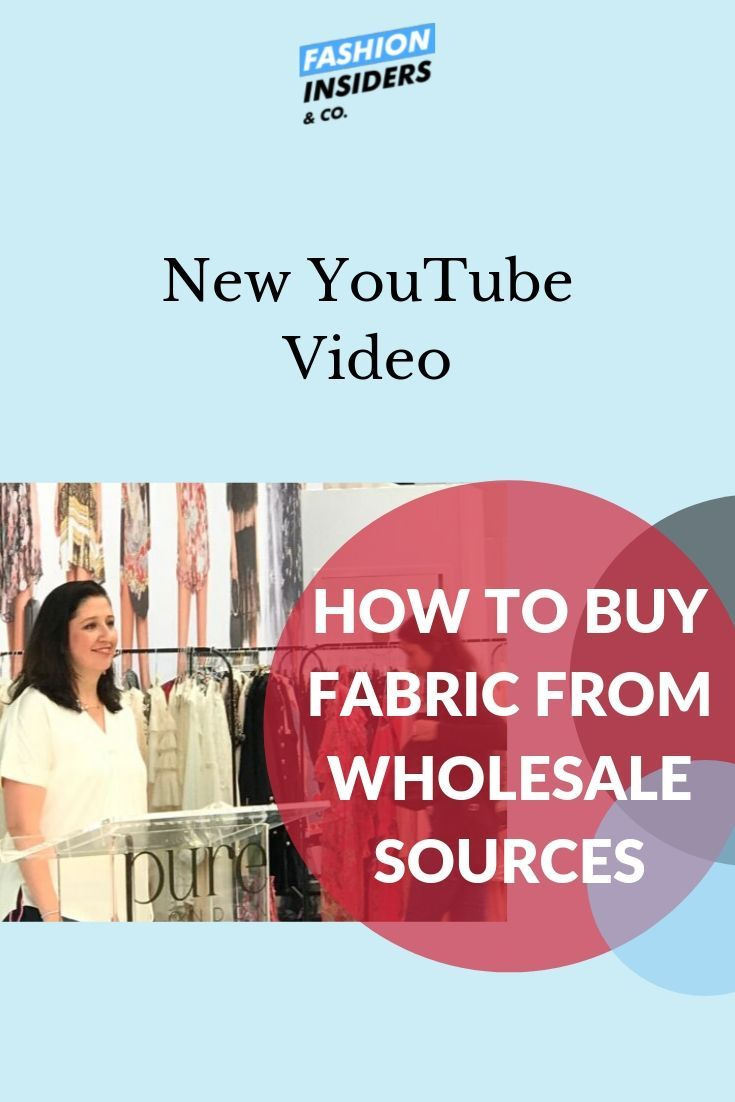 Fabric Sourcing From Wholesale Sources Buy Fabric Fabric Business Video