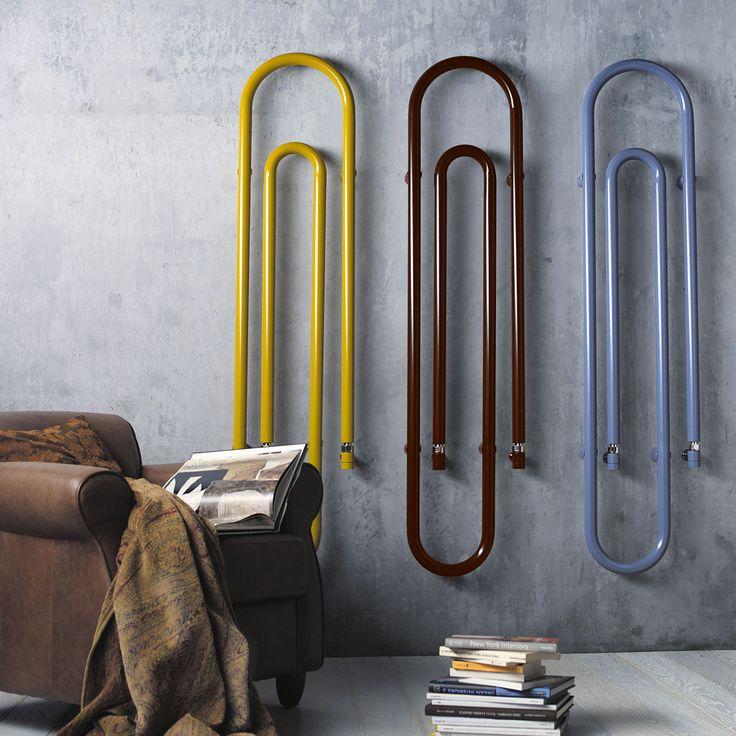 Termoarredo graffetta Elettrico colorato, design moderno, Graffe by Scirocco