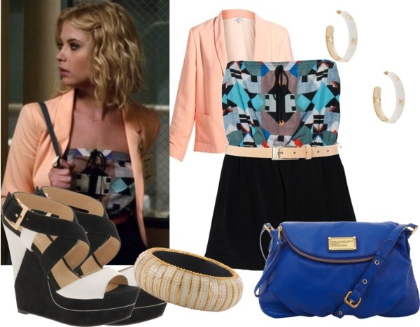 """Hanna Marin Inspired"" by kaylee-kimberlin on Polyvore"
