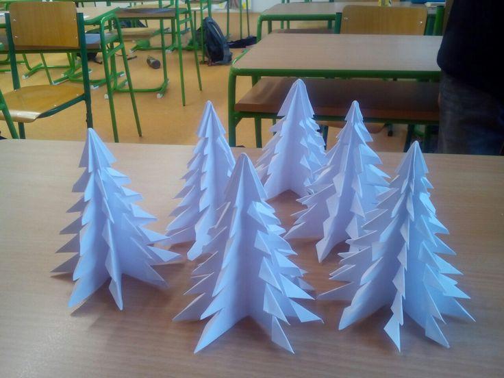 Origami - stromeček
