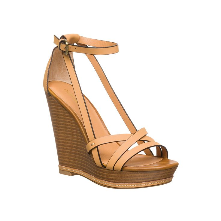 Matisse Joss Wedge Camel shoe