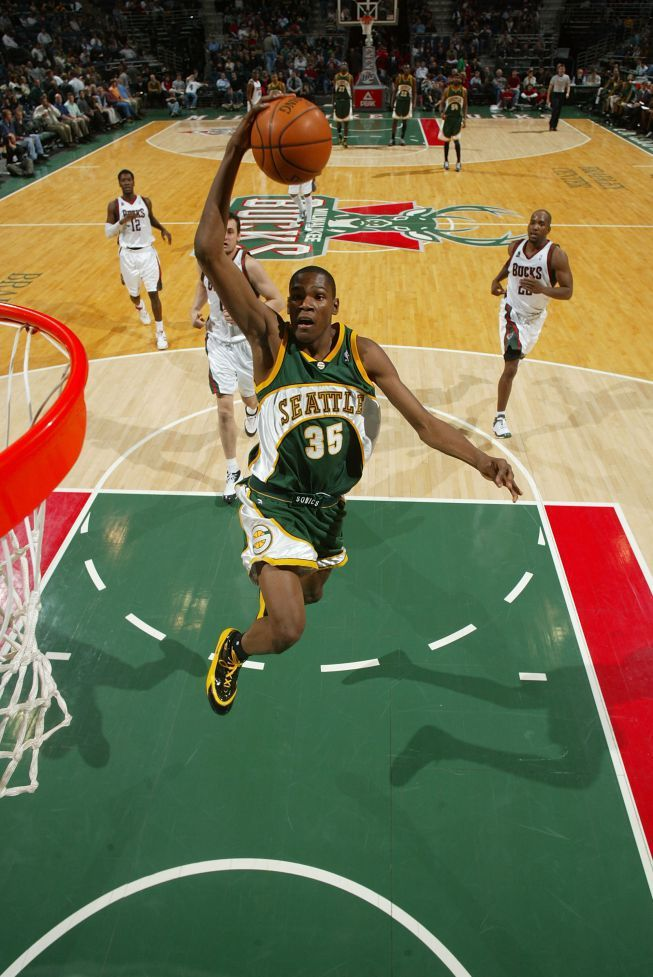 Kevin Durant Seattle Sonics