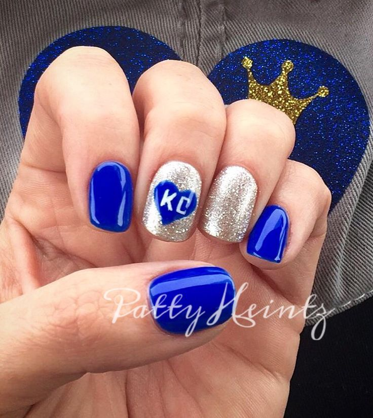 34 best Sports Nails images on Pinterest | Cute nails, Fingernail ...