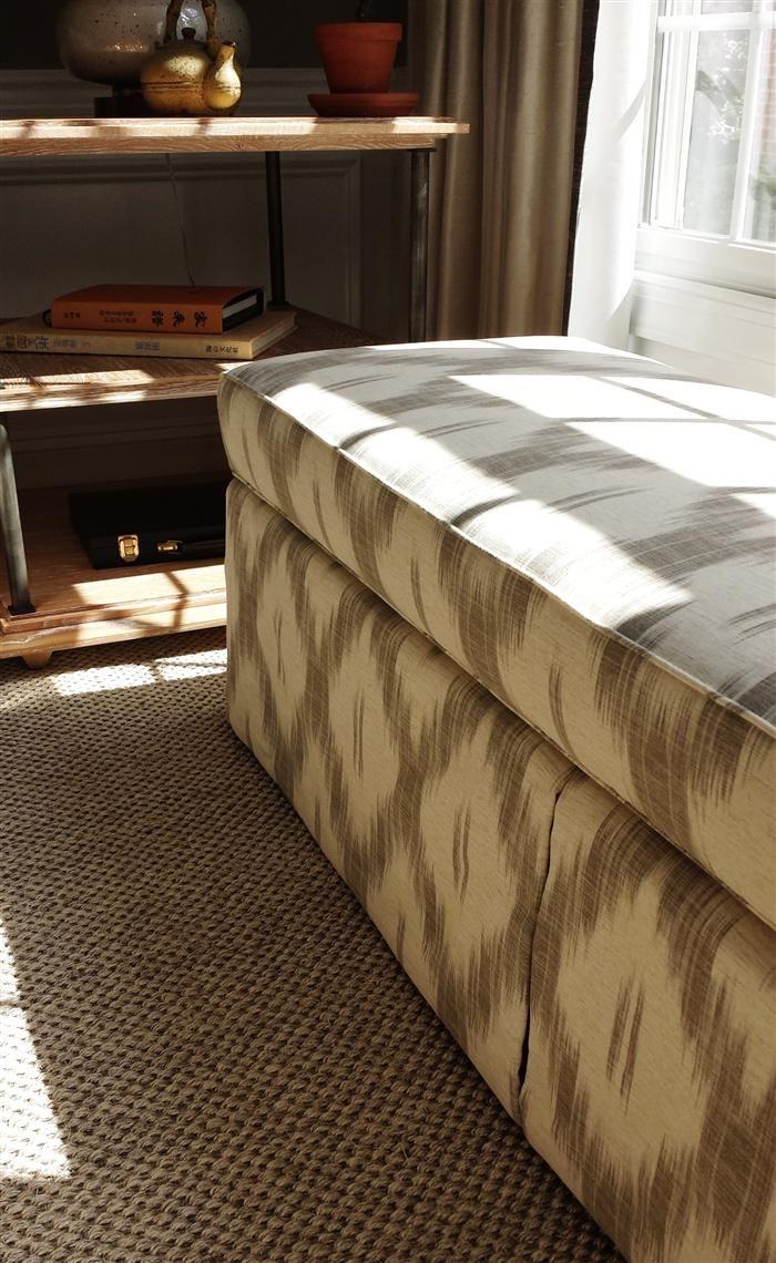 Ikat bench - Lauren Liess | Pure Style Home