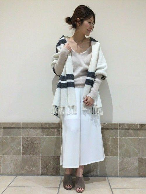 miki(Noble 名古屋店)|Spick and Span Nobleのニット/セーターを使ったコーディネート - WEAR