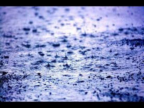 صوت المطر